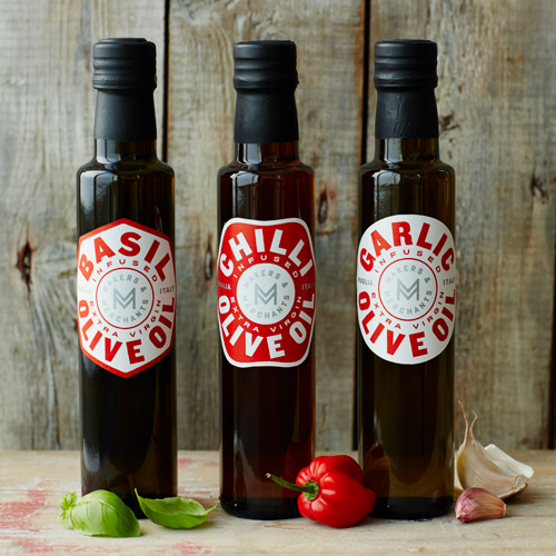 Makers and merchants Basil, Chilli and Garlic Olive Oil